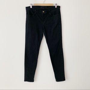 J Brand Hewson Super Skinny Stretch Black Jeans